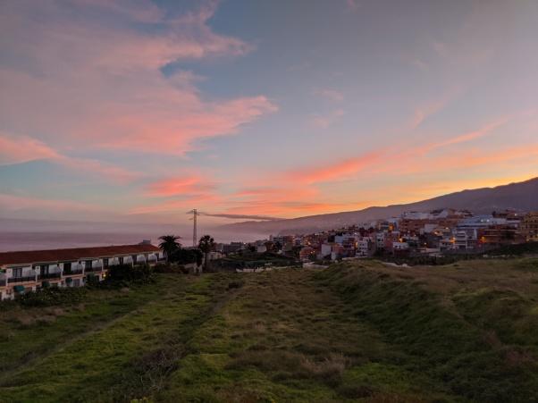 Sunrise, Tenerife north side
